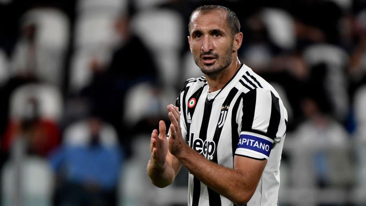 Giorgio Chiellini, capitano della Juventus - Serie A 2021-22