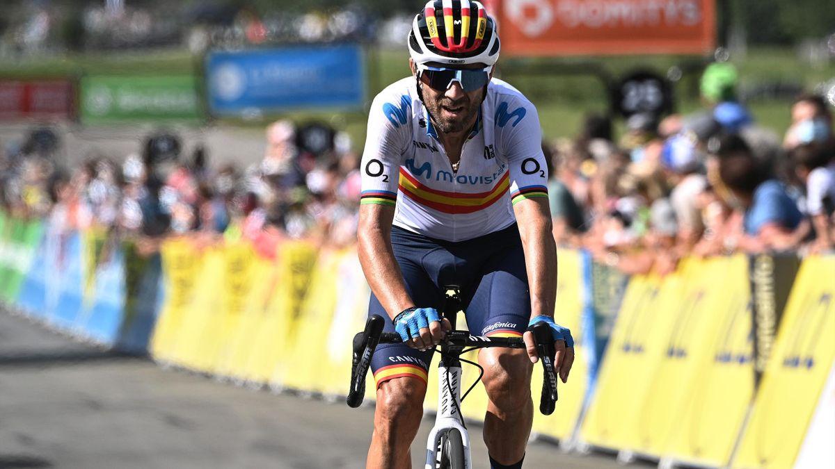 Alejandro Valverde fährt für Movistar