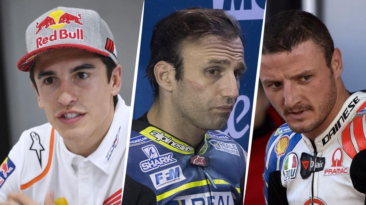 Marc Marquez, Johann Zarco, Jack Miller