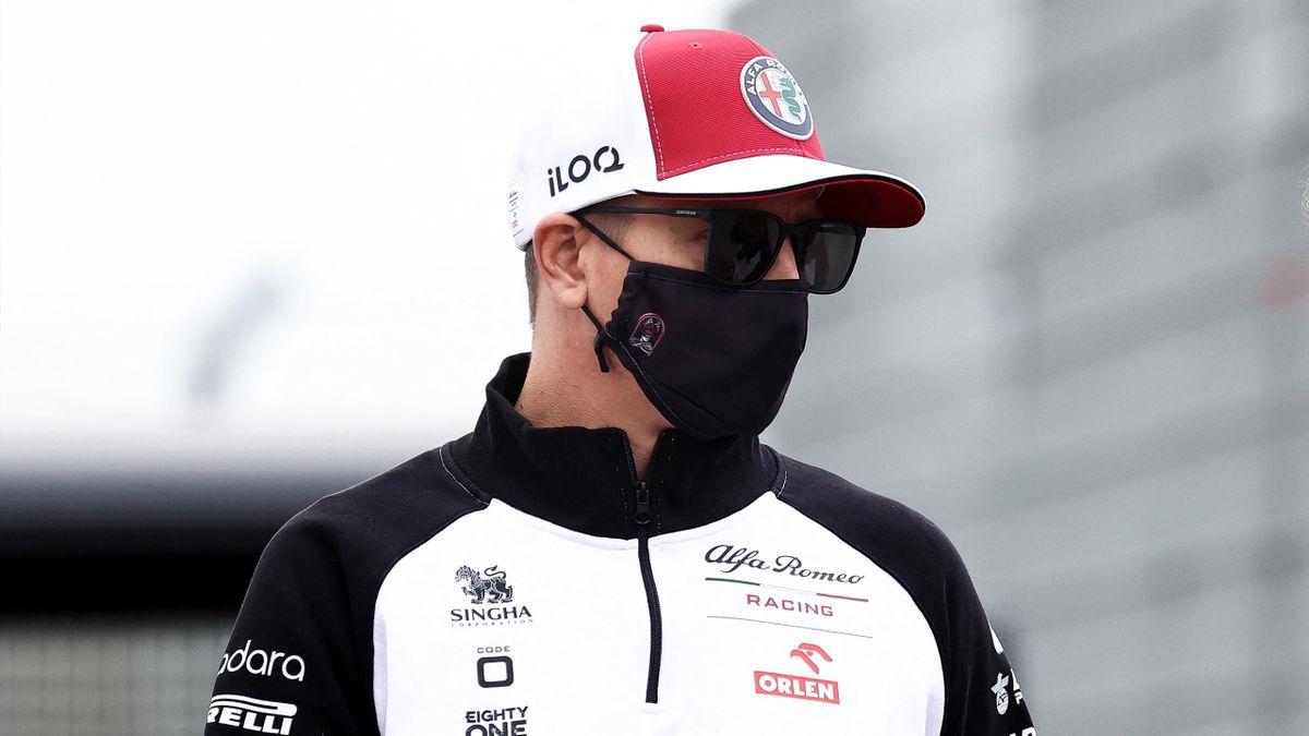 Kimi Räikkönen wurde in Zandvoort positiv auf Corona getestet