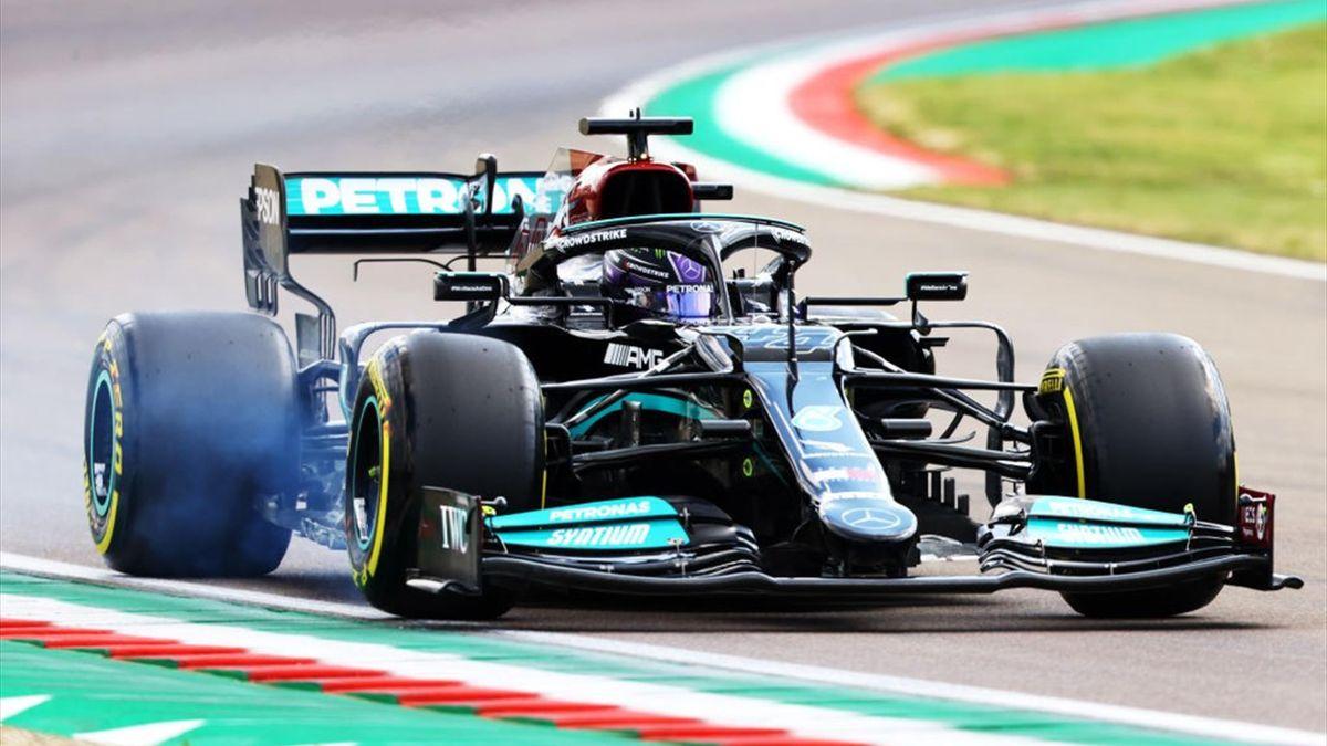 Lewis Hamilton (Mercedes) - GP of Emilia-Romagna 2021