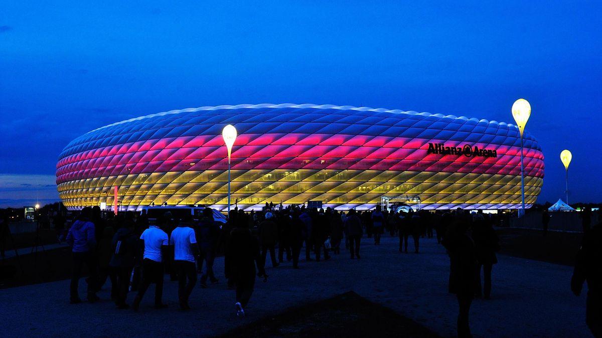 In der Münchner Allianz Arena sollen vier EM-Spiele stattfinden