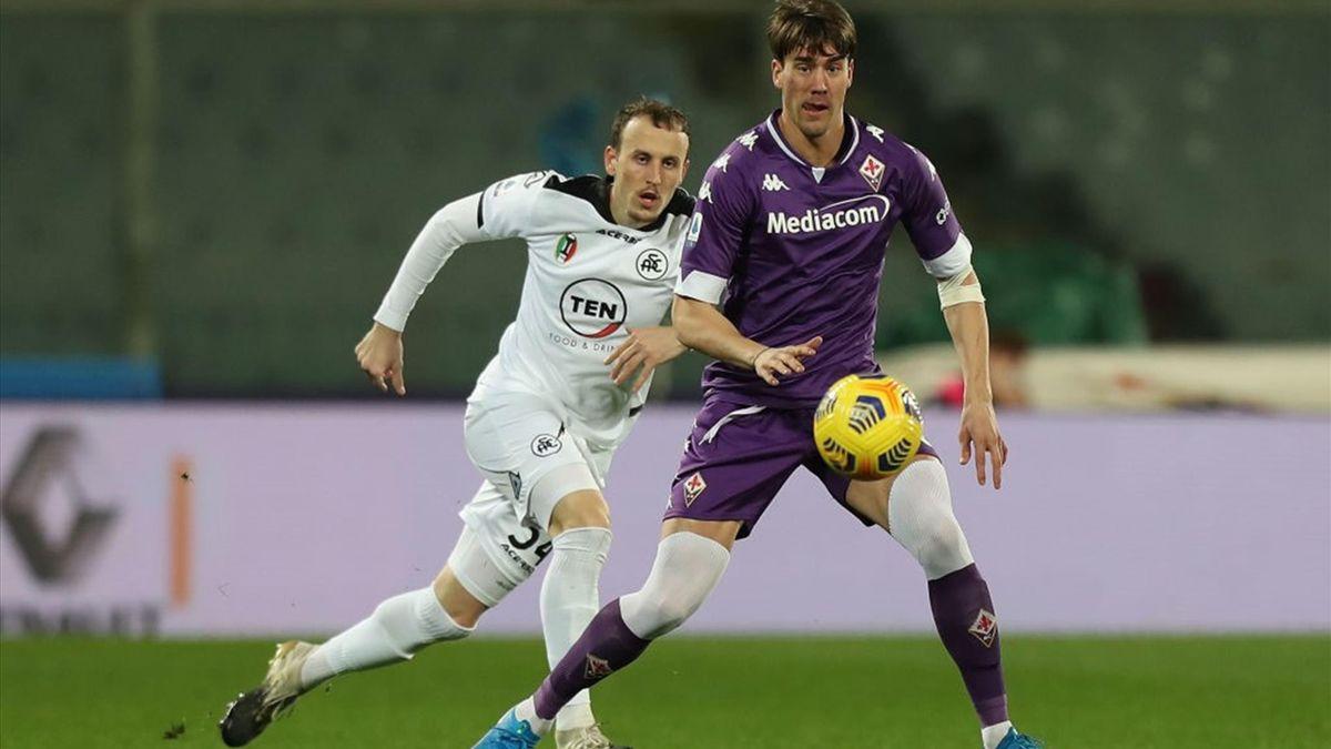 Spezia-Fiorentina - Serie A