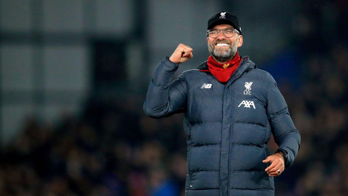 Jürgen Klopp feiert mit Liverpool die Meisterschaft