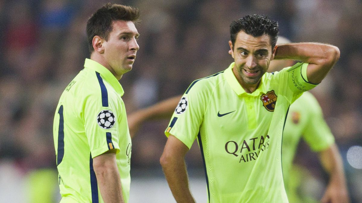 Lionel Messi Xavi Is The Best Player In The History Of Spanish Football Eurosport