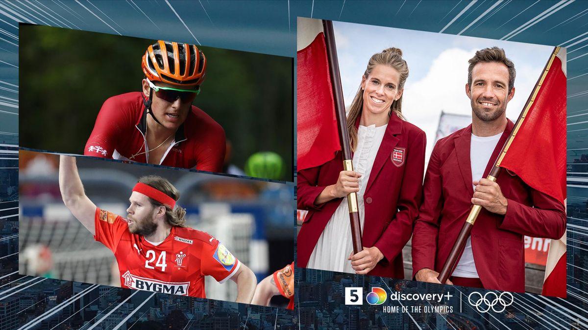 Se alle øjeblikke fra de olympiske lege på discovery+.