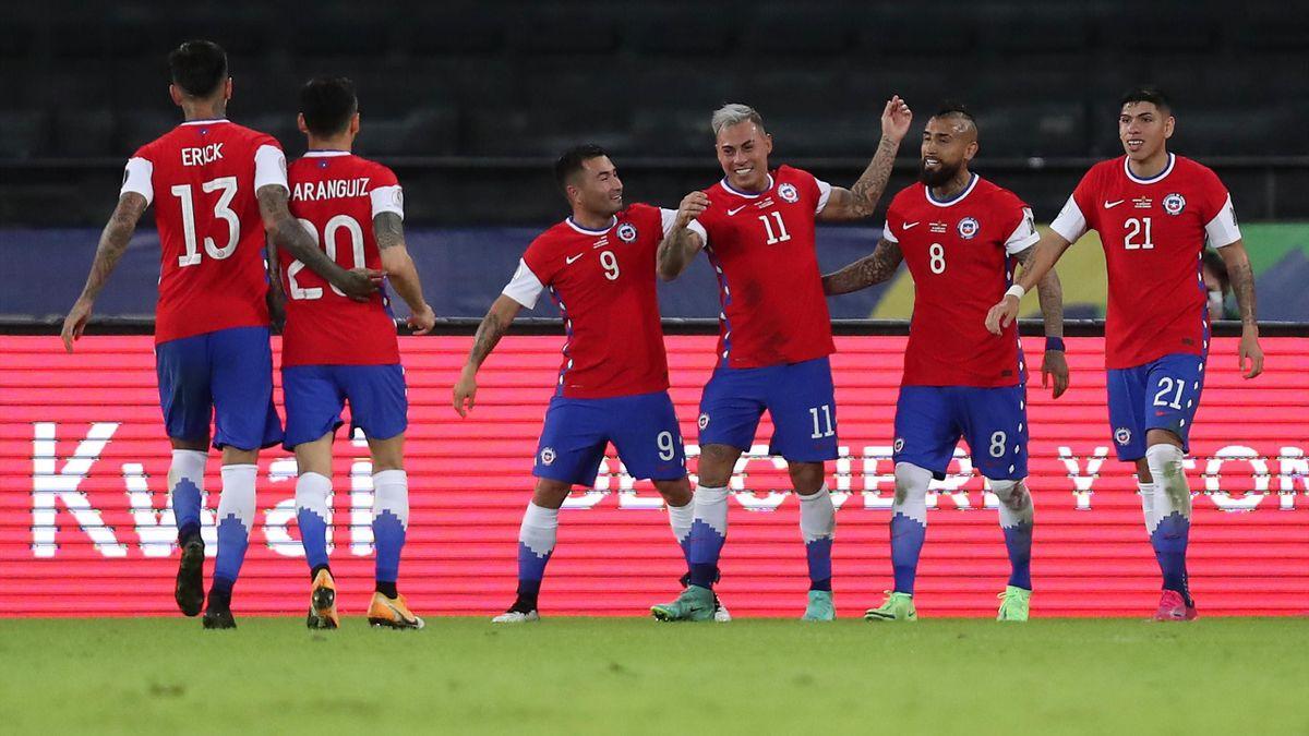 Edu Vargas Argentina Chile Copa America