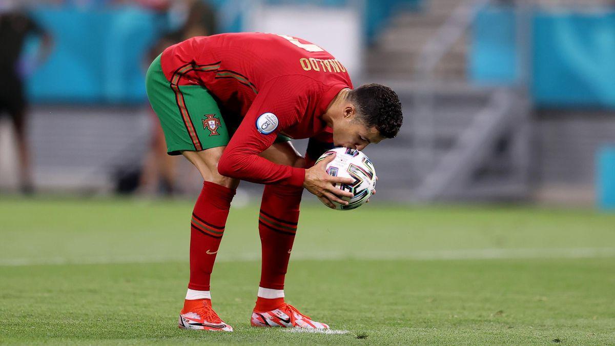 Cristiano Ronaldo face à la France