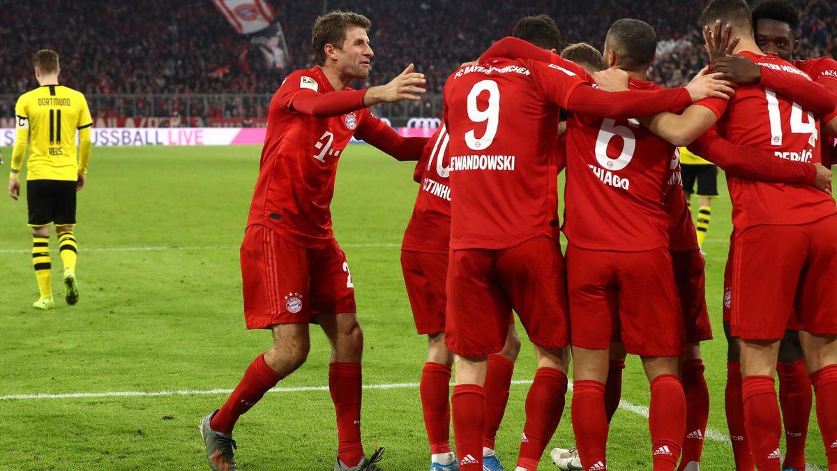 FC Bayern jubelt, BVB enttäuscht