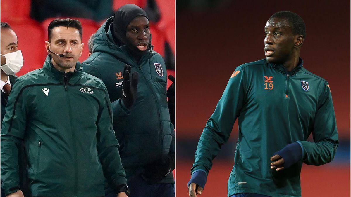 Demba Ba e Coltescu - PSG-Basaksehir - Champions League 2020-2021