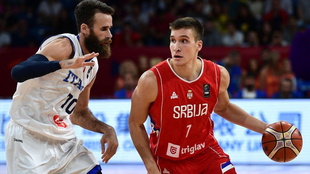 Bogdan Bogdanovic (Serbie) élimine l'Italie de Gigi Datome