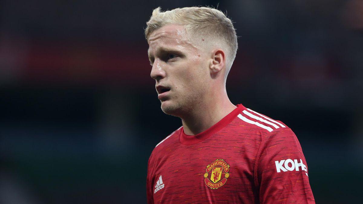 Donny van de Beek is yet to start a Premier League game for Man Utd