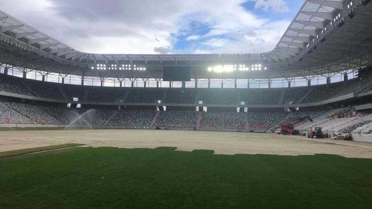"S-a aprins nocturna pe noul stadion ""Steaua"""