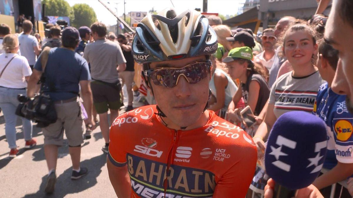 Tour de France : Pozzovivo's interview in italian