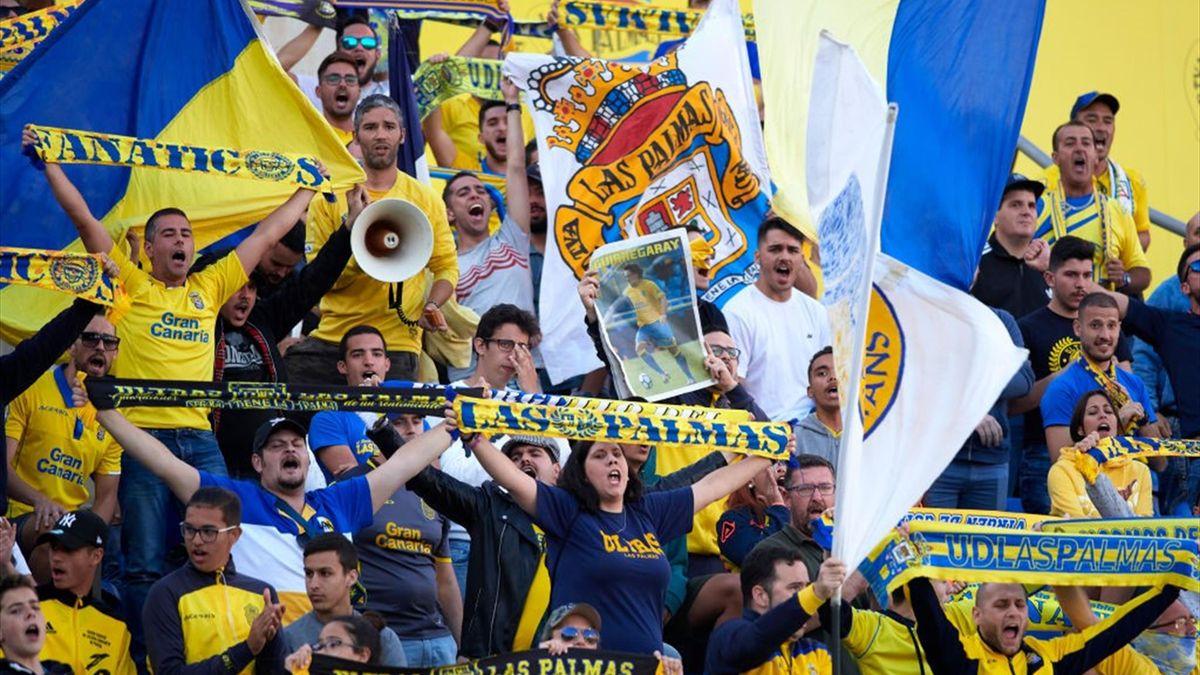 Fanii lui Las Palmas ar reprezenta un adevărat atu în lupta pentru salvarea de la retrogradare