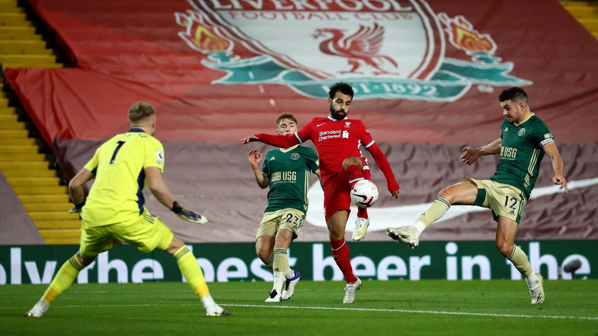 Liverpool's win over Sheffield United was a pay-per-view match over the weekend in the UK