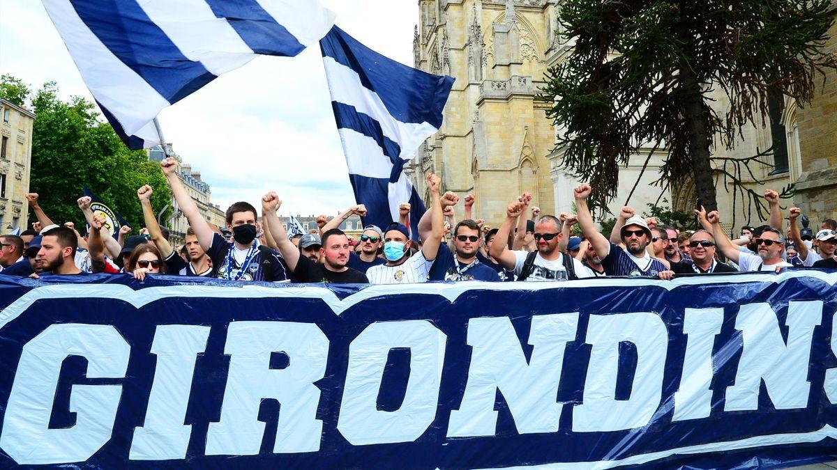 Les supporters bordelais en juin 2020.