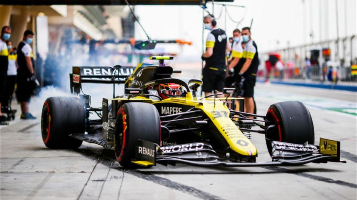 Esteban Ocon (Renault) au Grand Prix de Bahreïn 2020
