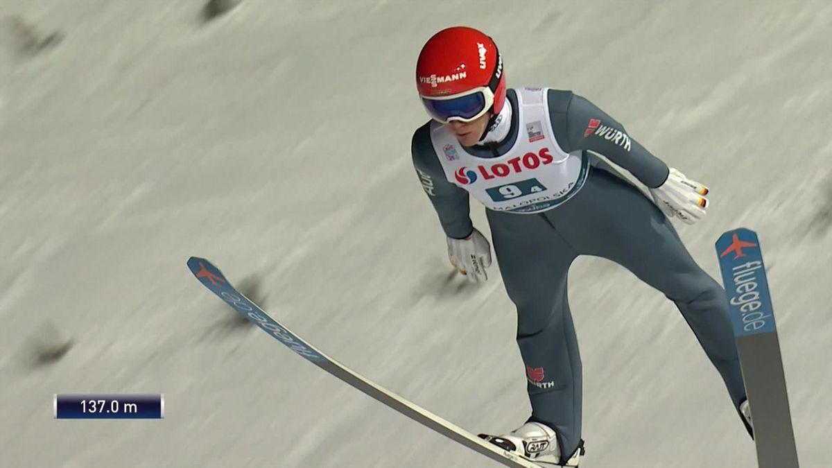 Ski Jumping Zakopane : Stephan Leyhe jump and Germany win