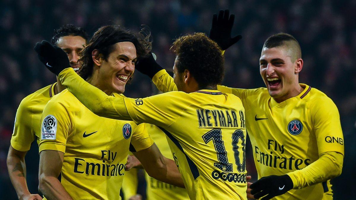 Neymar (PSG) buteur face à Lille