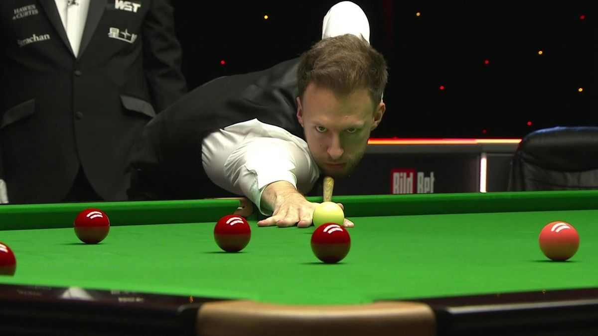 Judd Trump at the German Masters