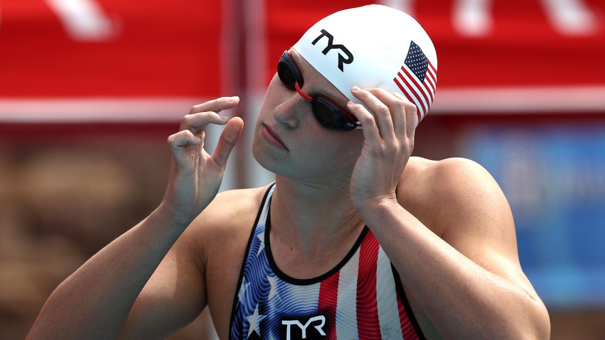 Katie Ledecky could become a history maker at Tokyo 2020