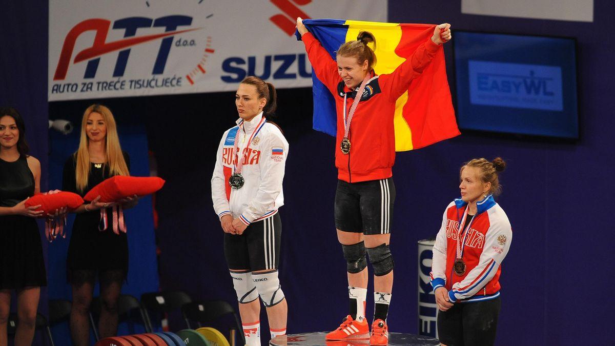 Loredana Toma, campioană mondială la haltere