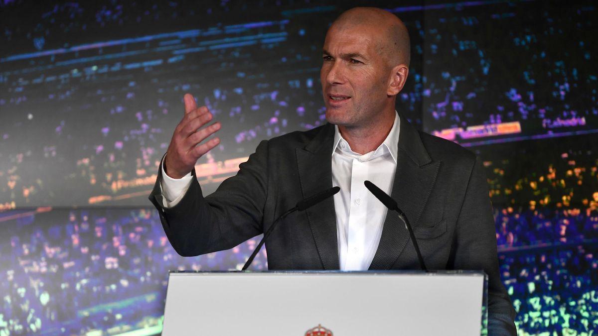 Zidane Presentado Como Nuevo Técnico Del Real Madrid Sus Frases Más Reveladoras Eurosport