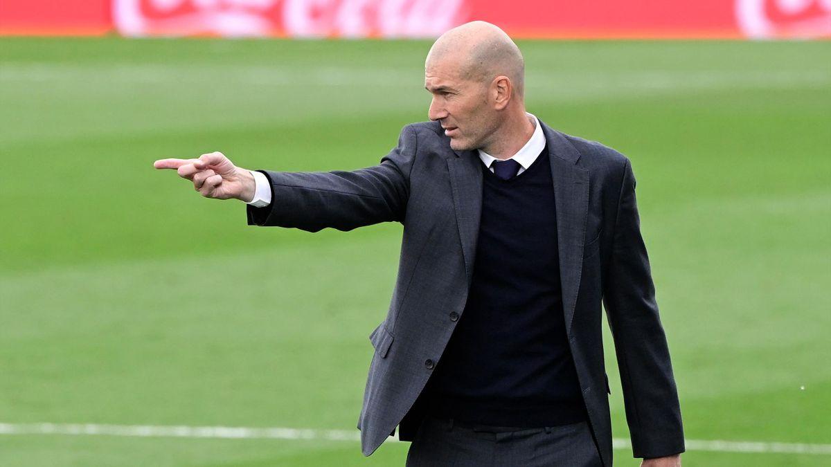 Zinedine Zidane - fotó: Javier Soriano