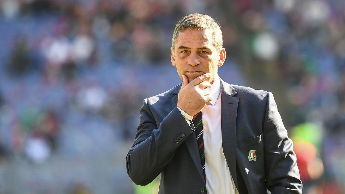 Franco Smith, il ct degli azzurri del rugby
