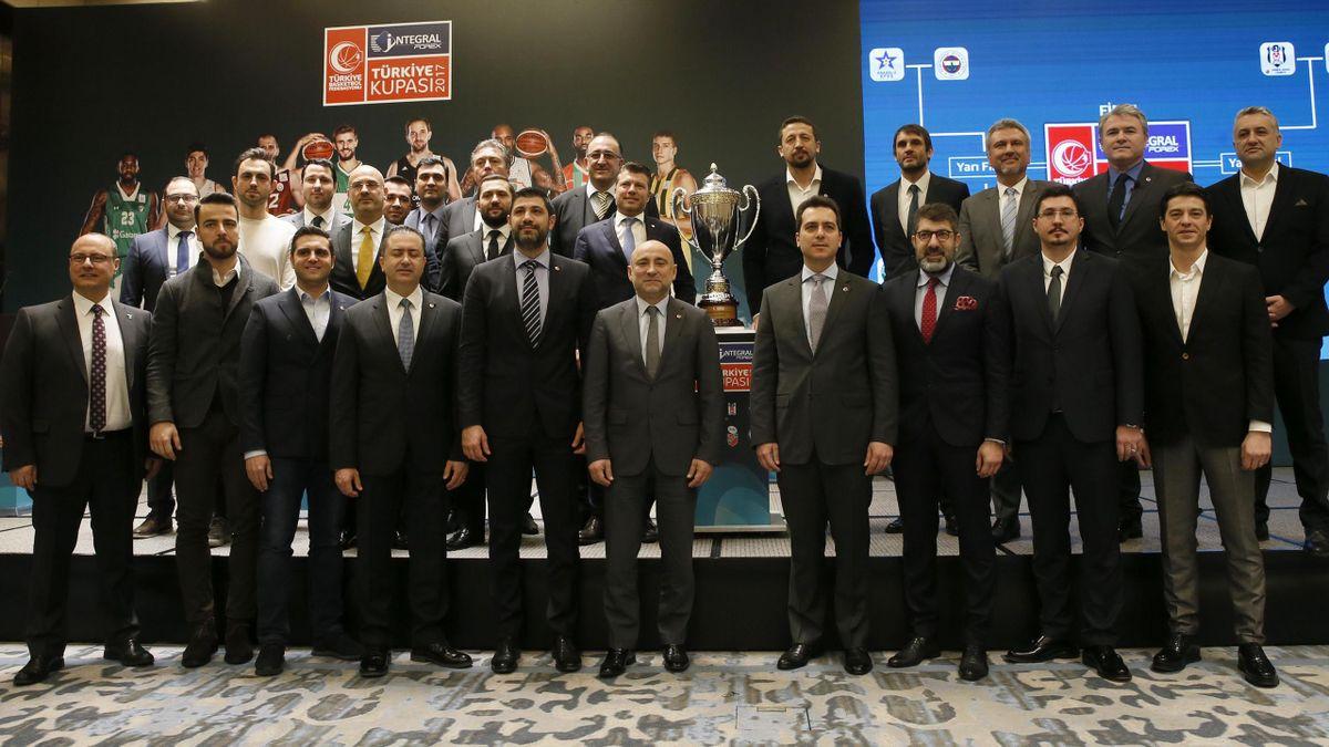 Türkiye Basketbol Kupası kura töreni