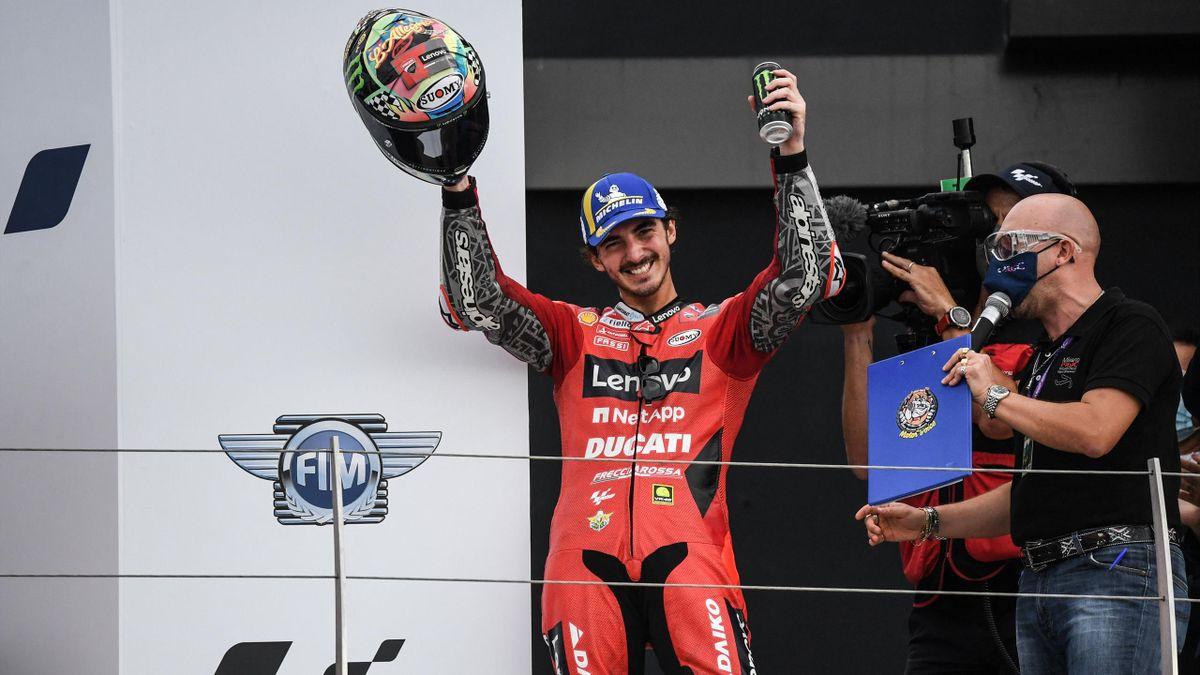 Francesco Bagnaia vince il GP di San Marino 2021