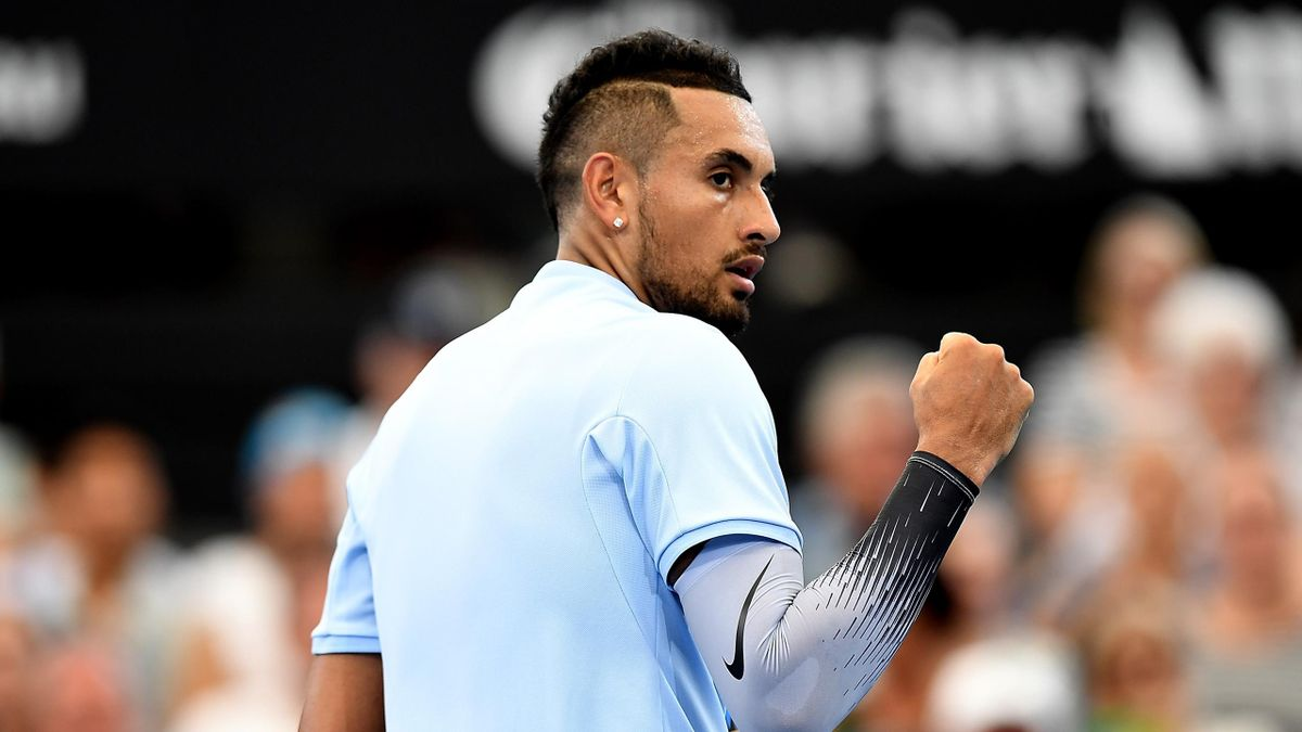 Nick Kyrgios progresses to Brisbane semis