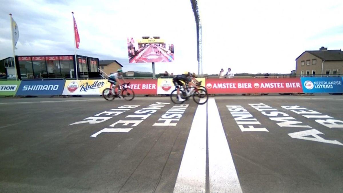 Amstel Gold Race 2021: Wout van Aert und Thomas Pidcock nahezu gleichauf