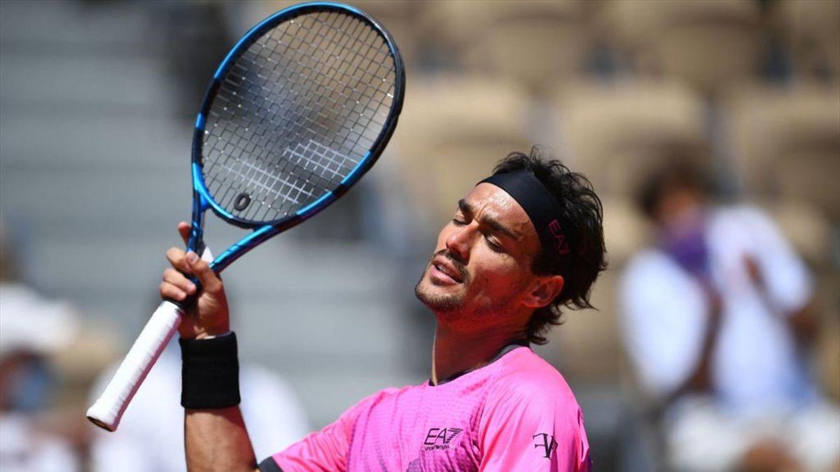 Fabio Fognini - Roland Garros 2021