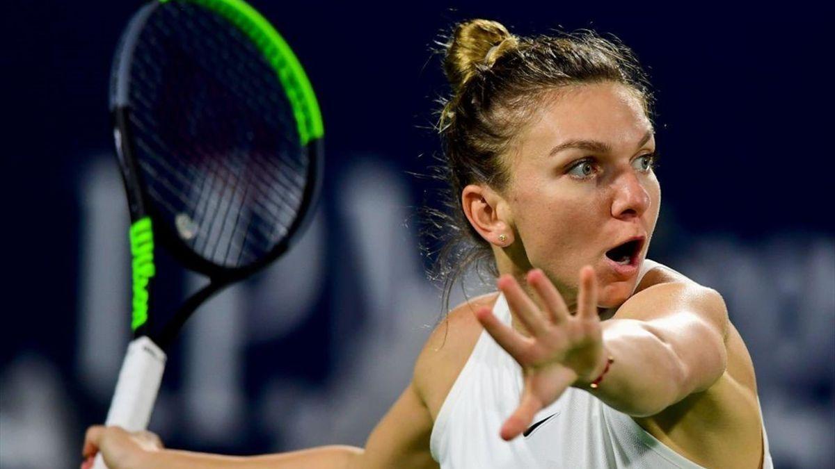 WTA Dubai: Highlights Brady - Halep