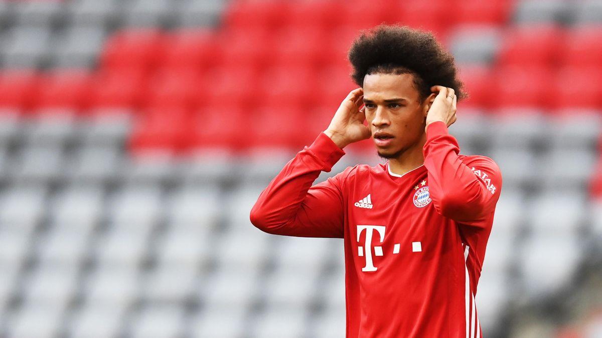 Leroy Sané vom FC Bayern München