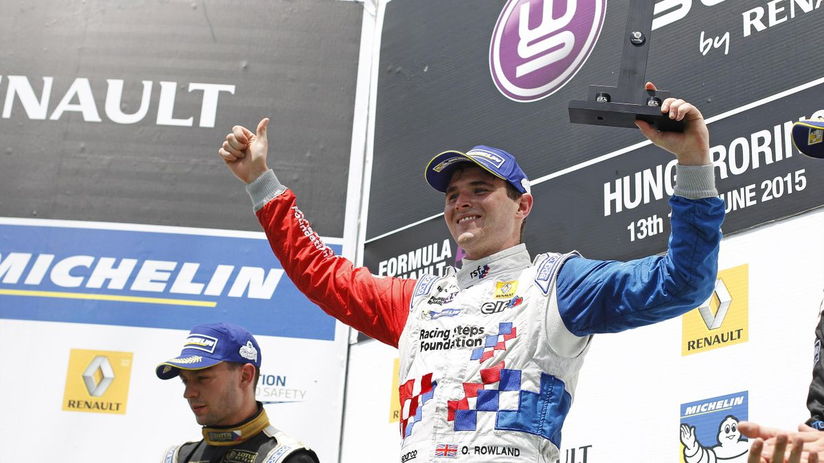 Оливер Роуленд (Fortec Motorsports)
