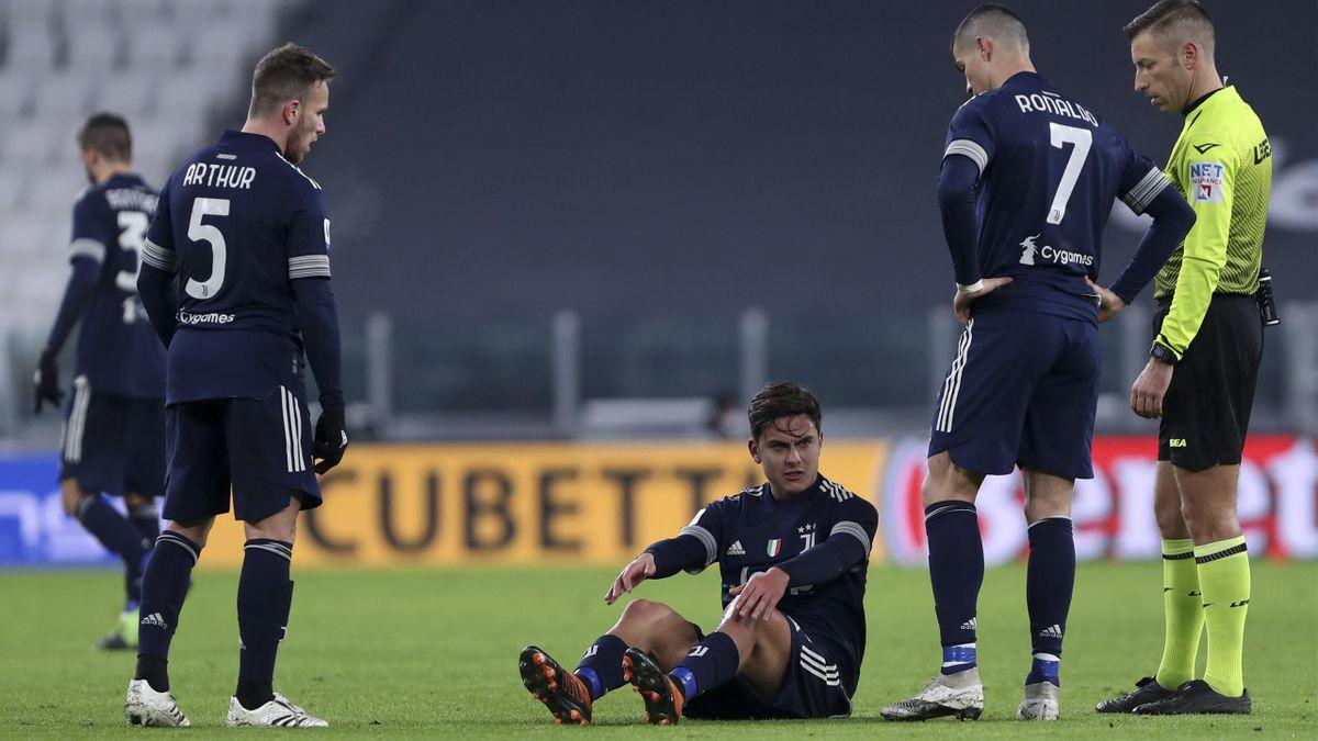 Paulo Dybaka hat sich am Knie verletzt und fehlt Juventus bis zu drei Wochen