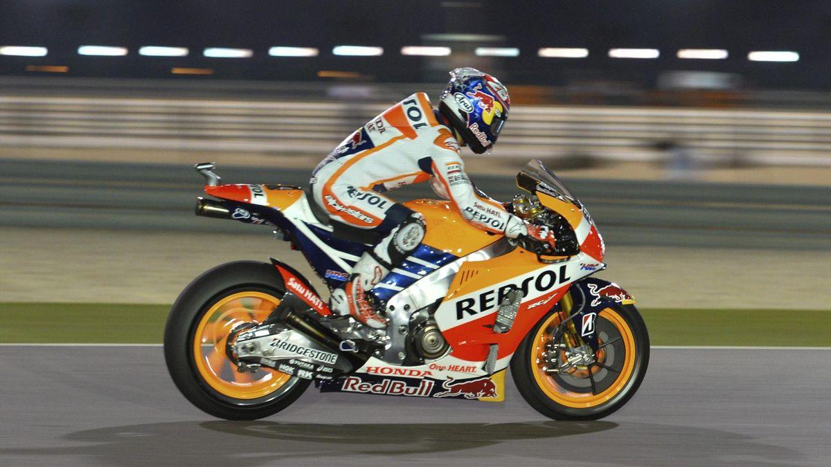 Dani Pedrosa en el GP de Catar