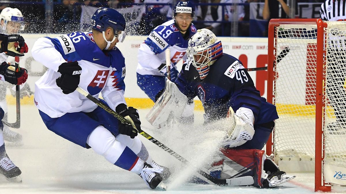 France Slovaquie hockey sur glace