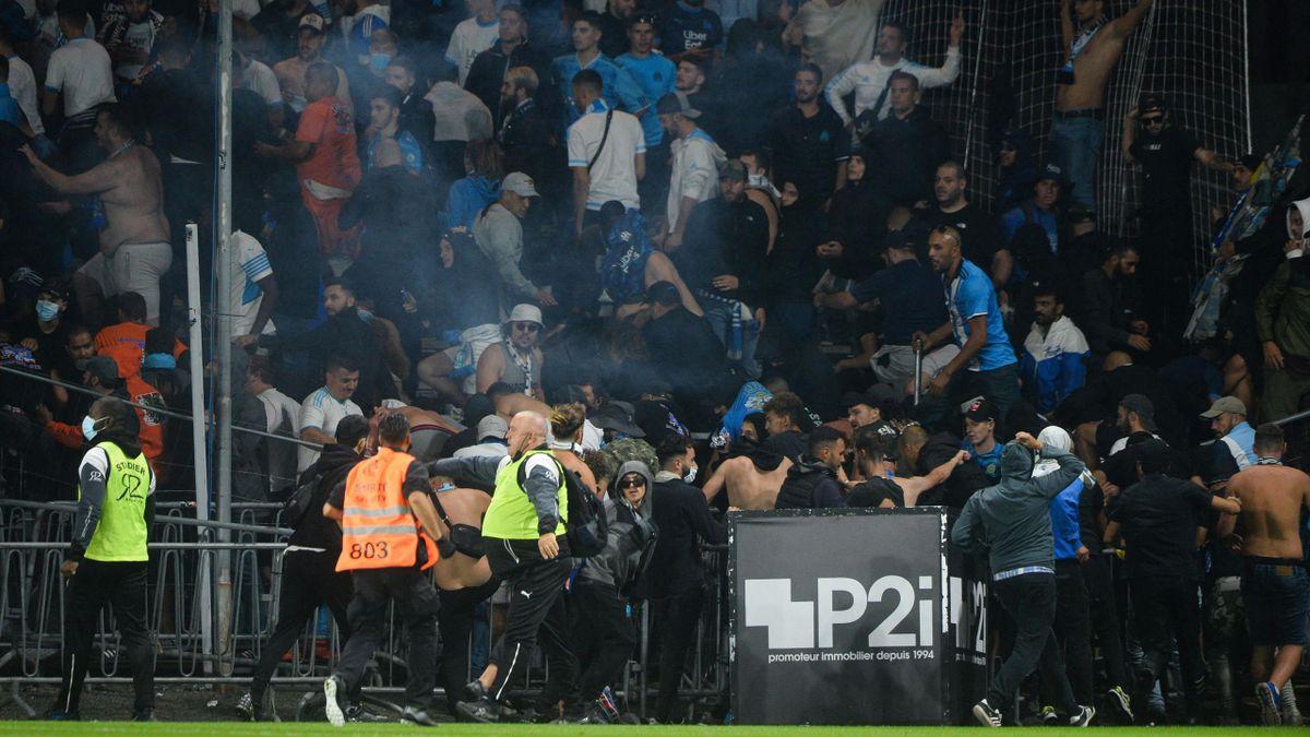 Le match Angers-OM a été marqué par plusieurs débordements.