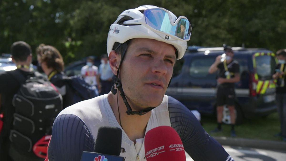 Tour de france : Stage 19 - interview post race - Jasper Stuyven