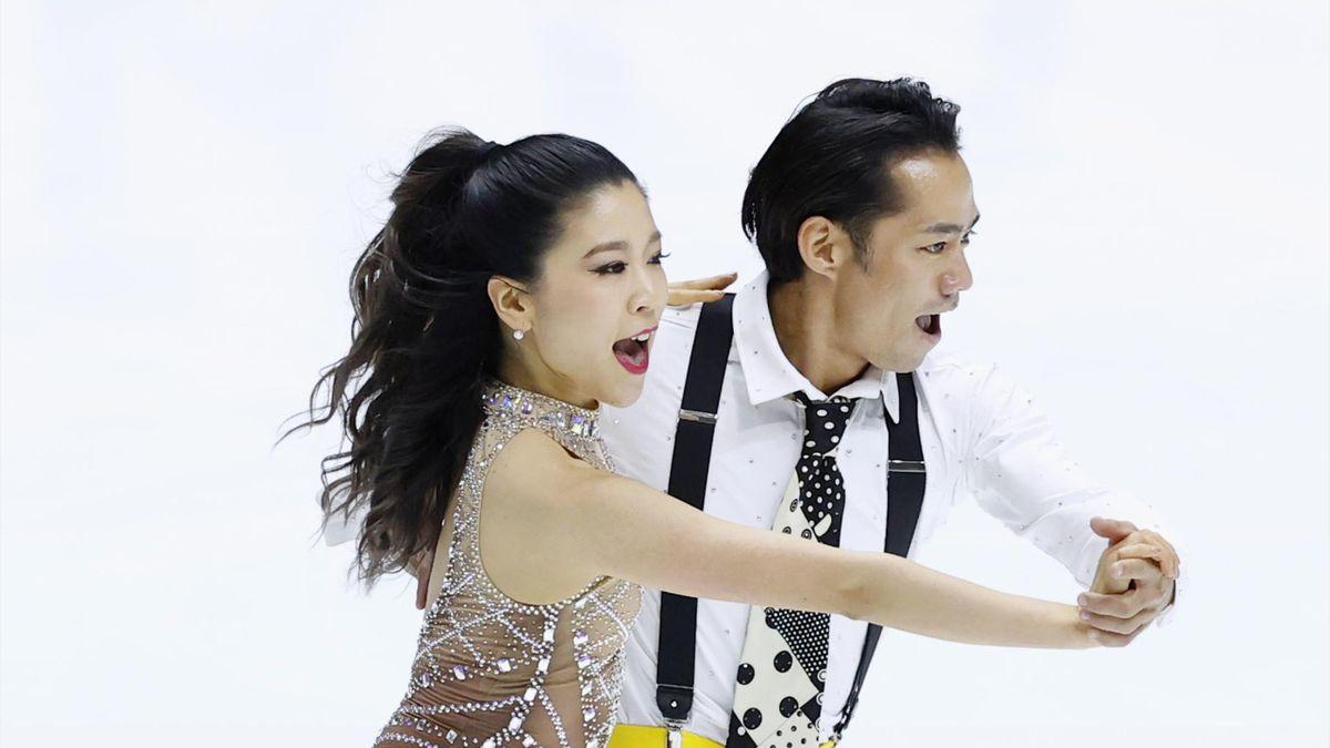 Кана Мурамото и Дайсуке Такахаси