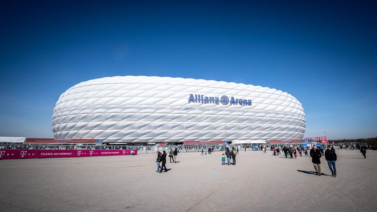 In der Münchner Allianz Arena könnte bald ein NFL-Spiel ausgetragen werden