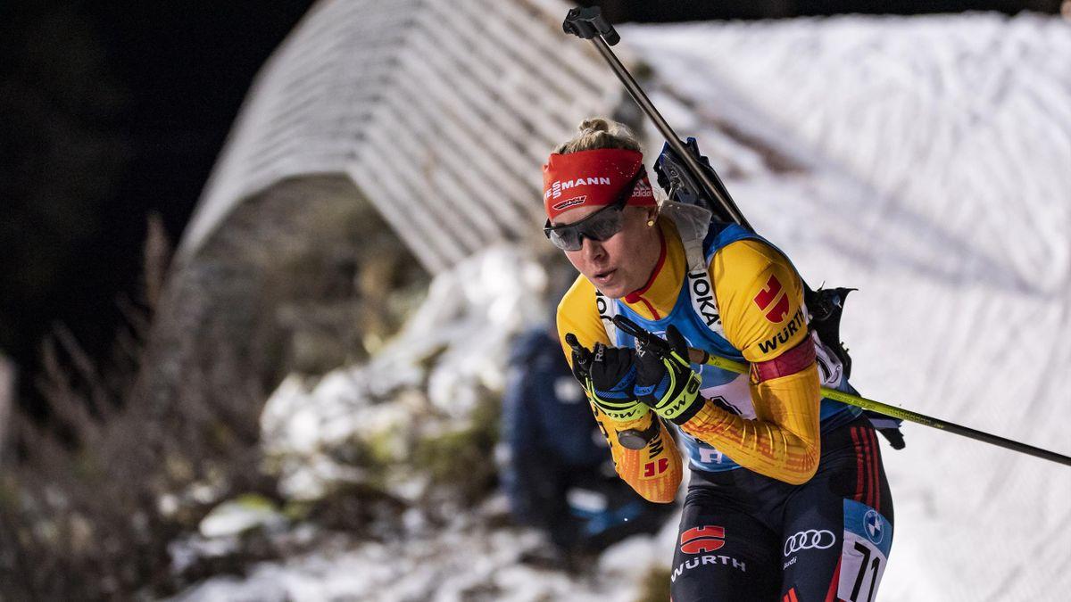 Maren Hammerschmidt in Kontiolahti, 2020