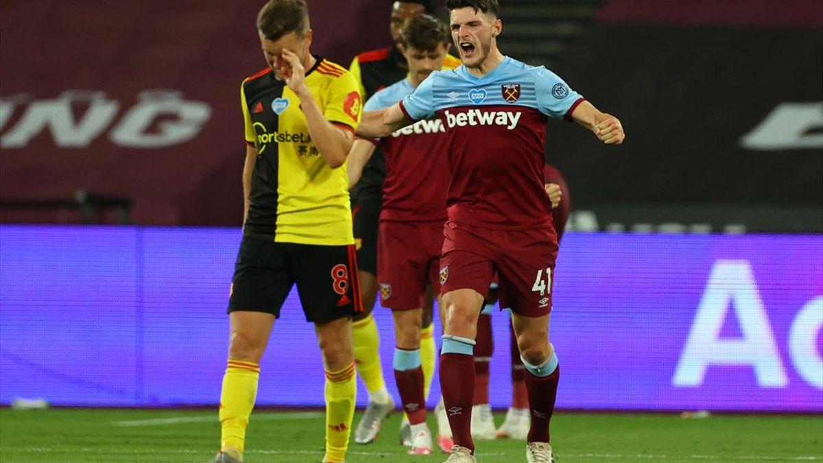 West Ham - Watford 3-1, în etapa 36 din Premier League