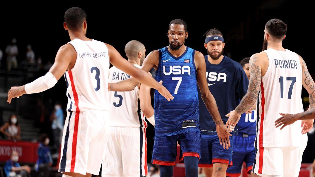 Kevin Durant und Co. verlieren gegen Frankreich