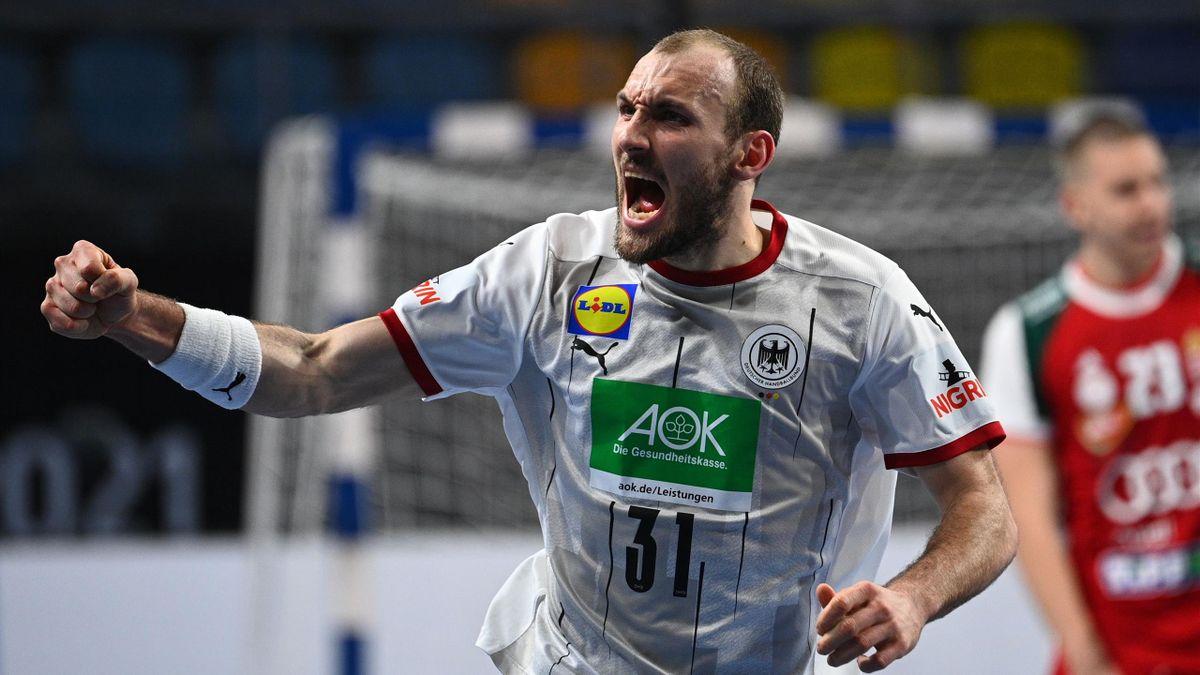 Marcel Schiller (Deutschland) im Spiel gegen Ungarn