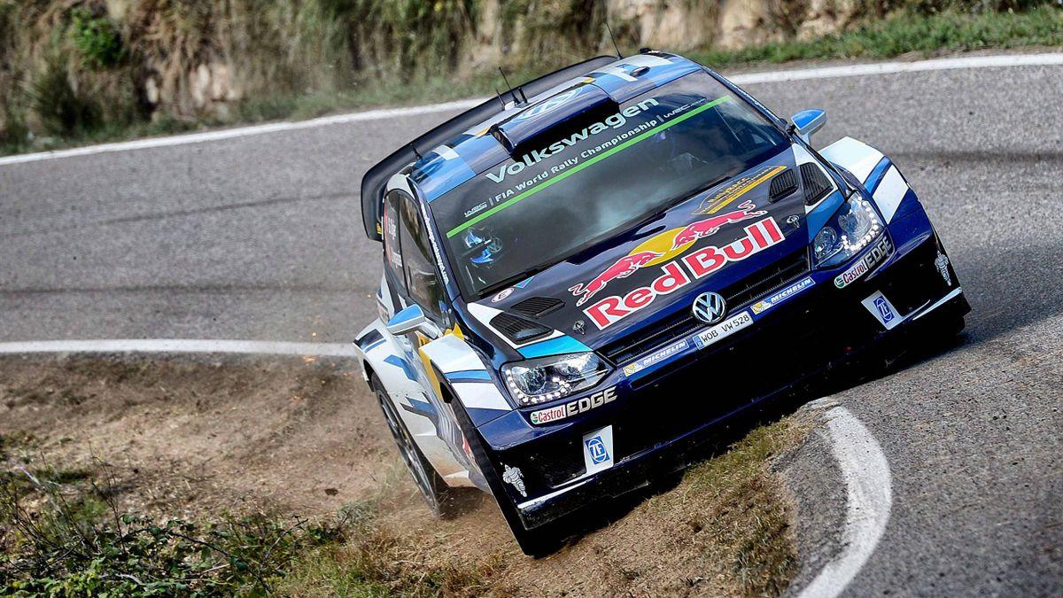 Sébastien Ogier im VW bei der Rally-WM